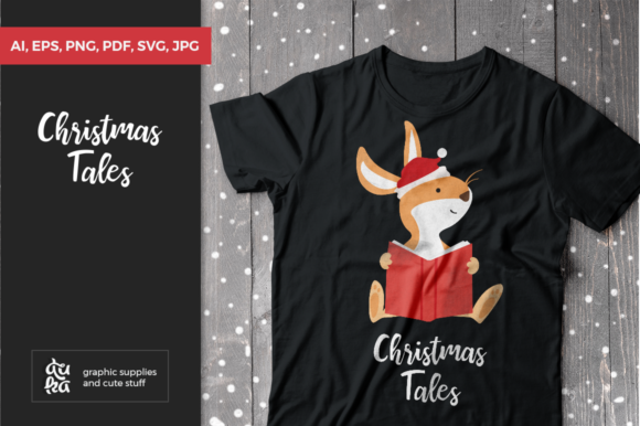 Download Free Christmas Tales Svg Graphic By Duka Creative Fabrica for Cricut Explore, Silhouette and other cutting machines.