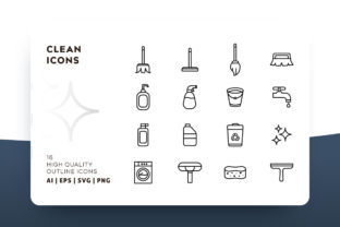 Clean Icon Pack Graphic By Goodware.Std