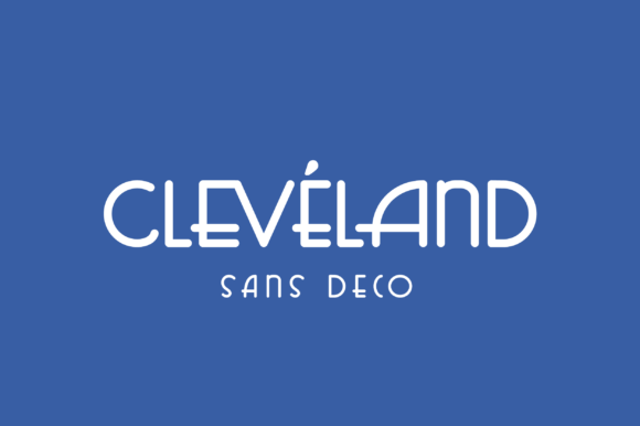 Print on Demand: Cleveland Display Font By monocotype