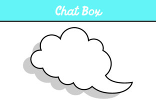 Download Free Cloud Chat Box Vector Graphic By Arief Sapta Adjie Creative Fabrica for Cricut Explore, Silhouette and other cutting machines.