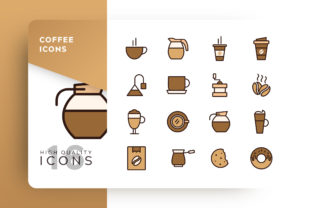 Coffee Icon Pack Graphic By Goodware.Std