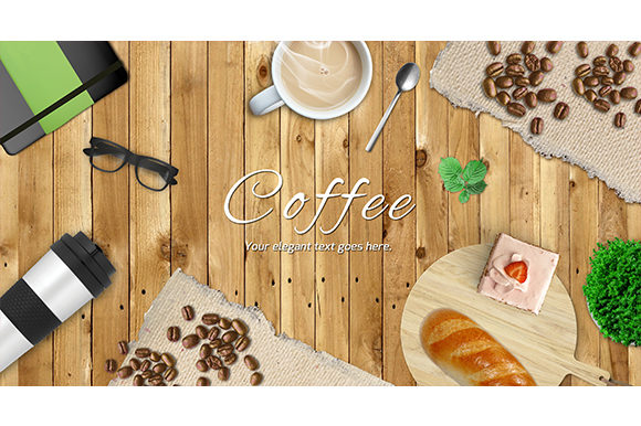Print on Demand: Coffee Scene Generators Graphic Scene Generators By vito12