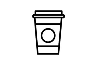 Download Free Coffee Icon Graphic By Rudezstudio Creative Fabrica for Cricut Explore, Silhouette and other cutting machines.