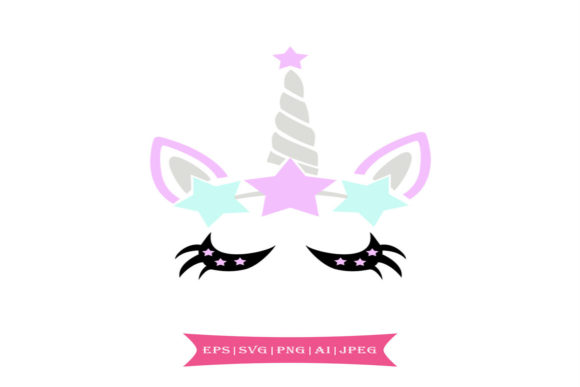 Colorful Unicorn Svg Graphic By summersSVG Image 1