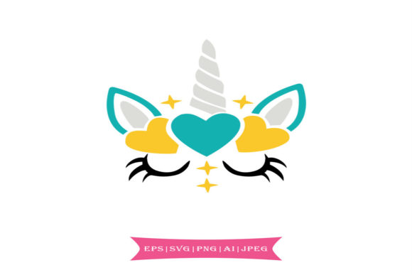 Download Free Colorful Unicorn Graphic By Summerssvg Creative Fabrica for Cricut Explore, Silhouette and other cutting machines.