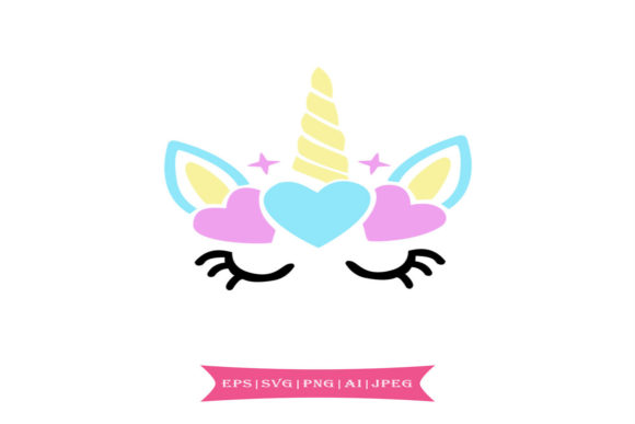 Colorful Unicorn Svg Graphic Illustrations By summersSVG - Image 1