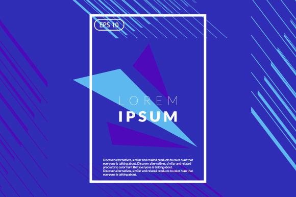 Colorful Geometric Background Graphic By iop_micro