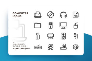 Computer Icon Pack Graphic By Goodware.Std