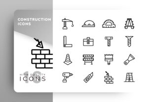 Construction Icon Pack Graphic By Goodware.Std