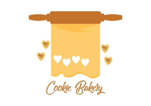 Download Free Cookie Biscuit Logo Vector Graphic By Deemka Studio Creative for Cricut Explore, Silhouette and other cutting machines.