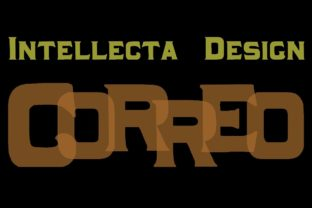 Correo Font By Intellecta Design