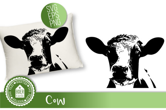 Cow Graphic Crafts By Boertiek