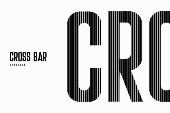 Download Free Crossbar Font By Webhance Creative Fabrica SVG Cut Files
