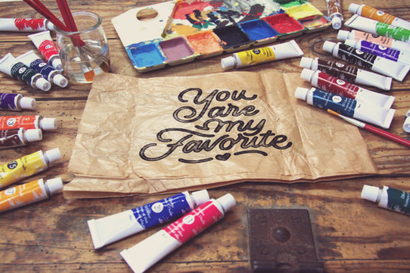 Crumpled Paper Bag Horitzontal Graphic Product Mockups By SmartDesigns