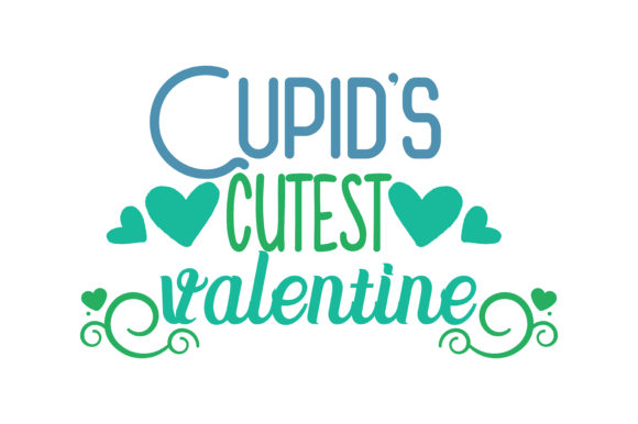 Download Free Cupid S Cutest Valentine Quote Svg Cut Graphic By Thelucky SVG Cut Files