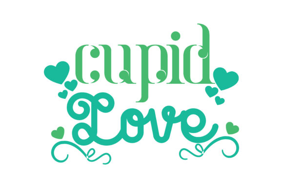 Download Free Cupid Love Quote Svg Cut Graphic By Thelucky Creative Fabrica for Cricut Explore, Silhouette and other cutting machines.