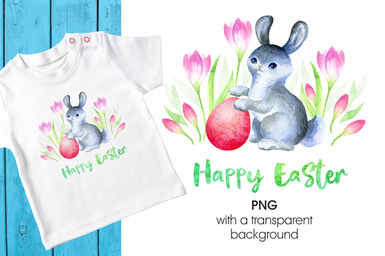 Download Free Cute Easter Bunny Graphic By Olga Belova Creative Fabrica for Cricut Explore, Silhouette and other cutting machines.