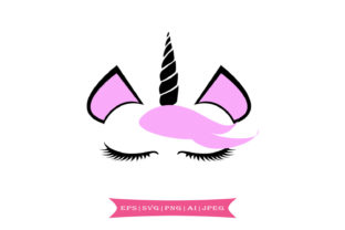 Download Free Cute Unicorn Graphic By Summerssvg Creative Fabrica SVG Cut Files