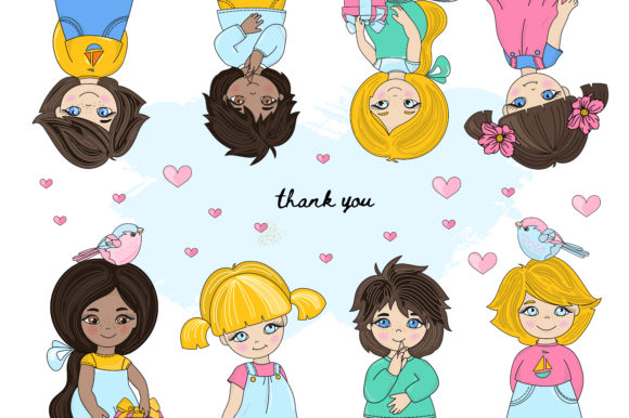 Print on Demand: Cute Valentine Illustration Set Graphic Illustrations By FARAWAYKINGDOM - Image 12