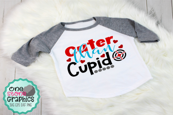 Cuter Than Cupid Svg Graphic Crafts By OneStoneGraphics