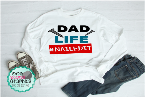 Dad Svg Graphic Crafts By OneStoneGraphics