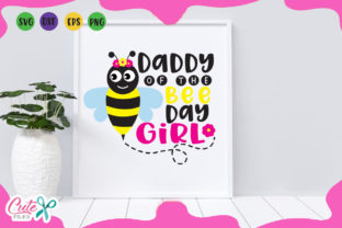 Download Free Daddy Of The Bee Day Svg Graphic By Cute Files Creative Fabrica for Cricut Explore, Silhouette and other cutting machines.