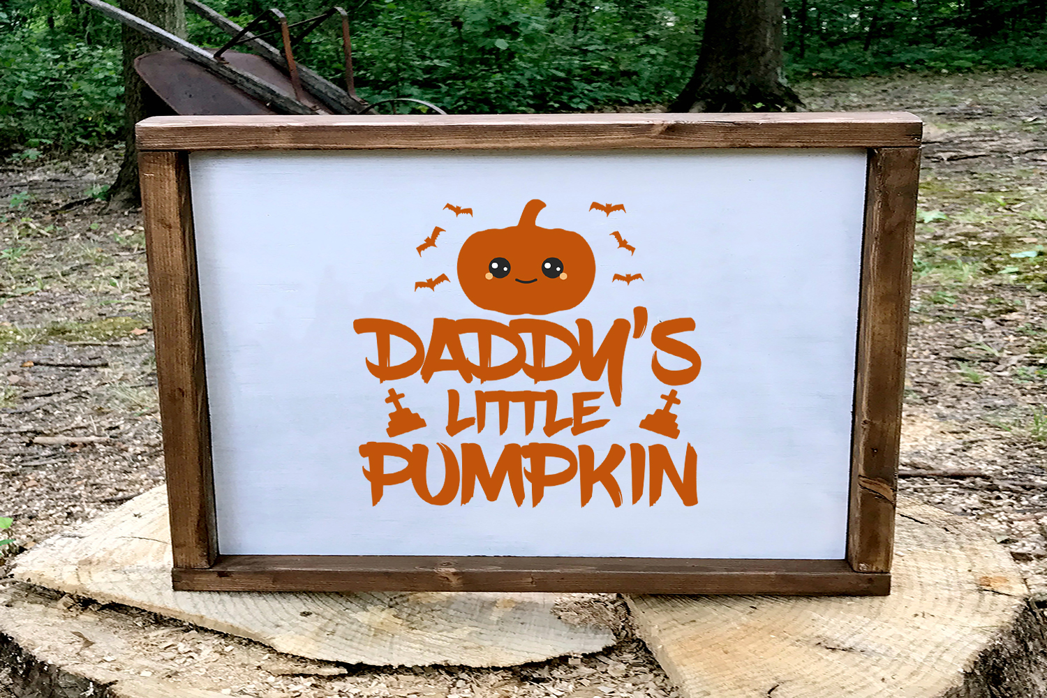 Download Free Daddy S Little Pumpkin Halloween Svg Graphic By Summerssvg for Cricut Explore, Silhouette and other cutting machines.