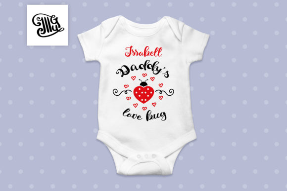 Download Free Daddy S Love Bug Svg Graphic By Illustrator Guru Creative Fabrica for Cricut Explore, Silhouette and other cutting machines.