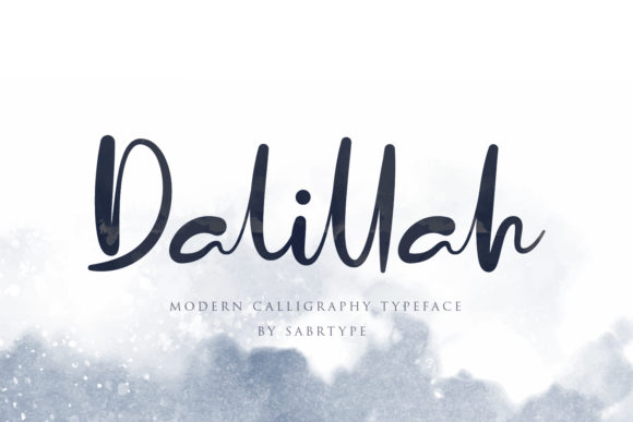 Print on Demand: Dalillah Script & Handwritten Font By sabrcreative - Image 1