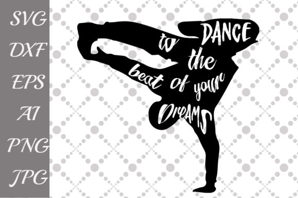 Download Free Dance Silhouette Graphic By Prettydesignstudio Creative Fabrica for Cricut Explore, Silhouette and other cutting machines.