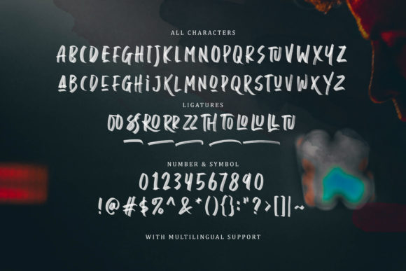 Print on Demand: Daviton Display Font By saridezra - Image 9
