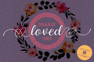 Dearly Loved One Font By Situjuh