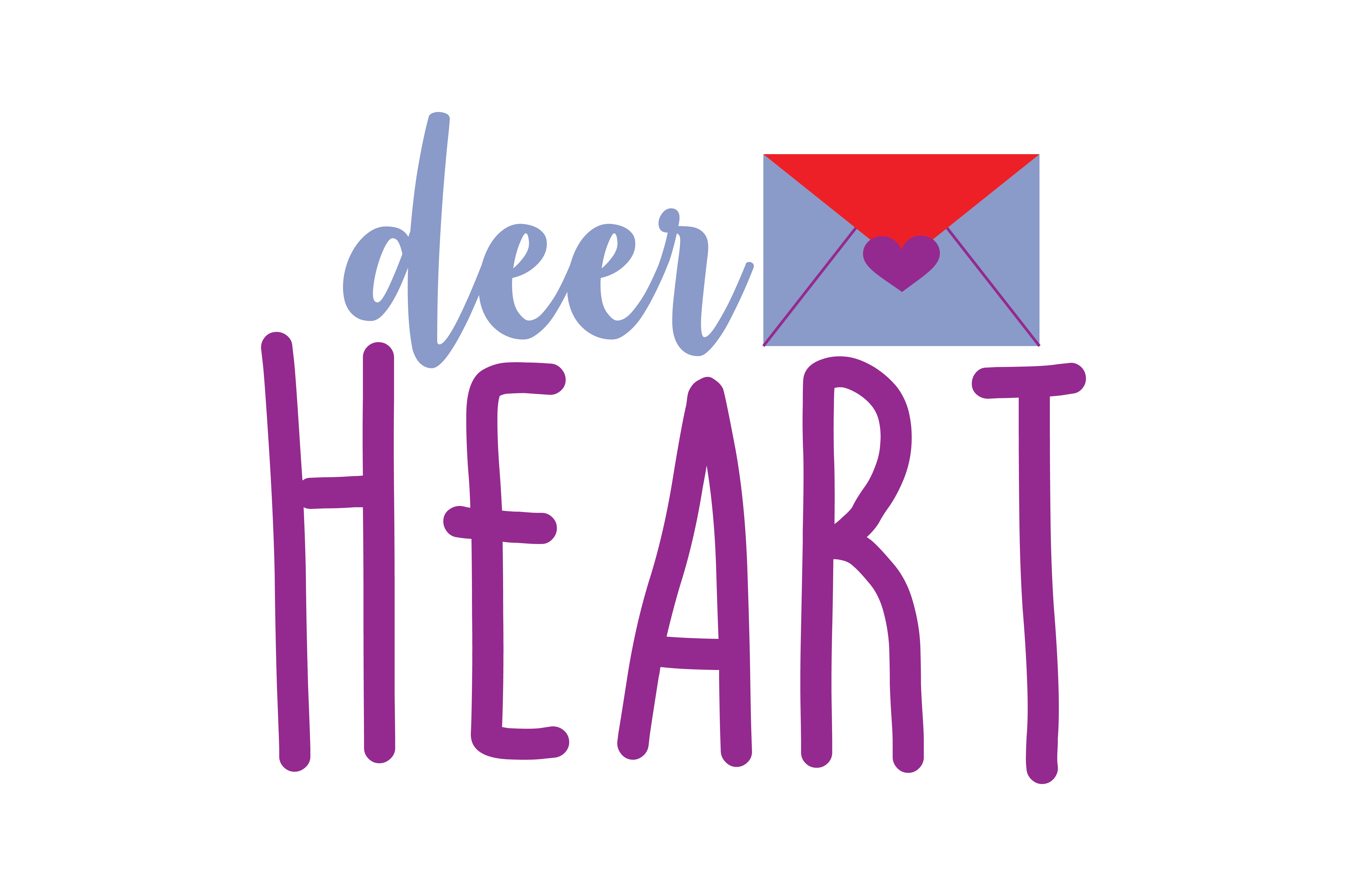 Download Free Deer Heart Quote Svg Cut Graphic By Thelucky Creative Fabrica for Cricut Explore, Silhouette and other cutting machines.