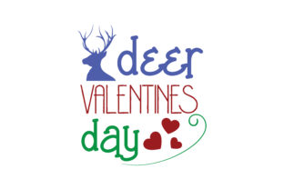 Download Free Deer Valentines Day Quote Svg Cut Graphic By Thelucky Creative for Cricut Explore, Silhouette and other cutting machines.