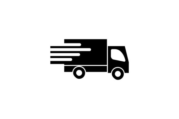Download Free Delivery Courier Icon Vector Graphic By Hoeda80 Creative for Cricut Explore, Silhouette and other cutting machines.
