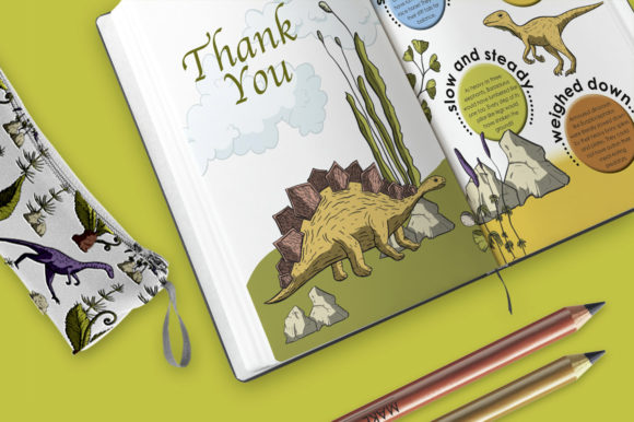 Dino Land Big Graphic Set Graphic By Red Ink Image 8