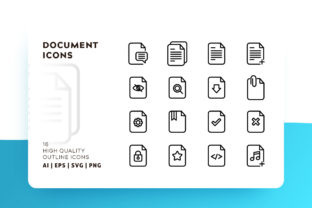 Document Icon Pack Graphic By Goodware.Std