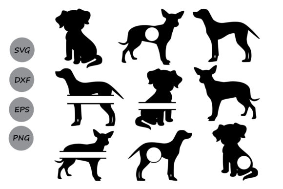 Download Free Dog Monogram Graphic By Cosmosfineart Creative Fabrica for Cricut Explore, Silhouette and other cutting machines.