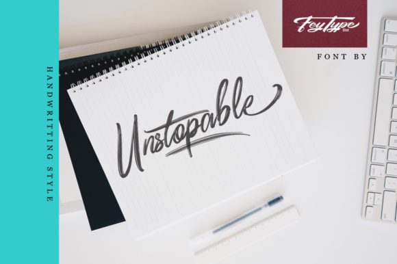 Print on Demand: Dragtime Script & Handwritten Font By feydesign - Image 3