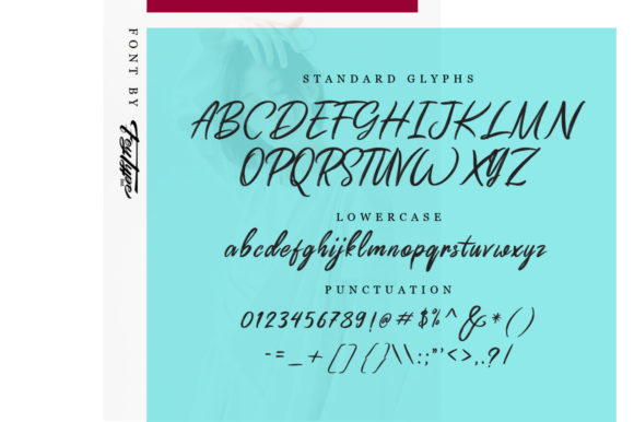 Print on Demand: Dragtime Script & Handwritten Font By feydesign - Image 6