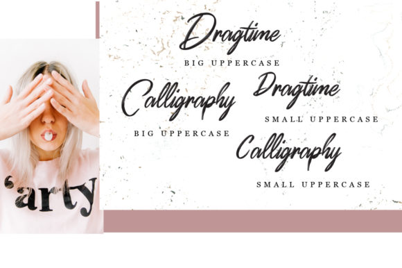 Print on Demand: Dragtime Script & Handwritten Font By feydesign - Image 7
