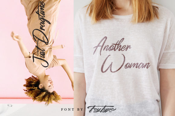 Print on Demand: Dragtime Script & Handwritten Font By feydesign - Image 8