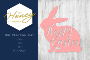 Easter Bunny SVG Graphic By The Honey Company