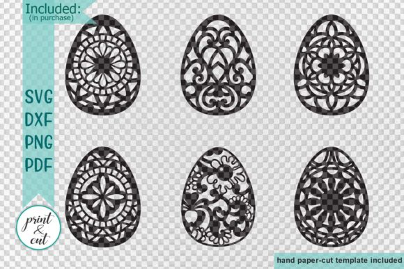 Download Free Easter Eggs Graphic By Cornelia Creative Fabrica for Cricut Explore, Silhouette and other cutting machines.