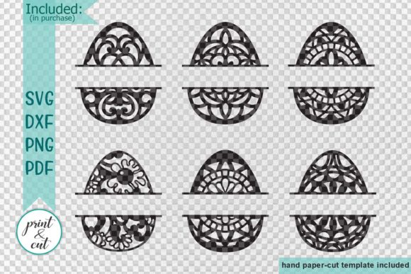 Easter Eggs Svg Graphic By Cornelia Image 2