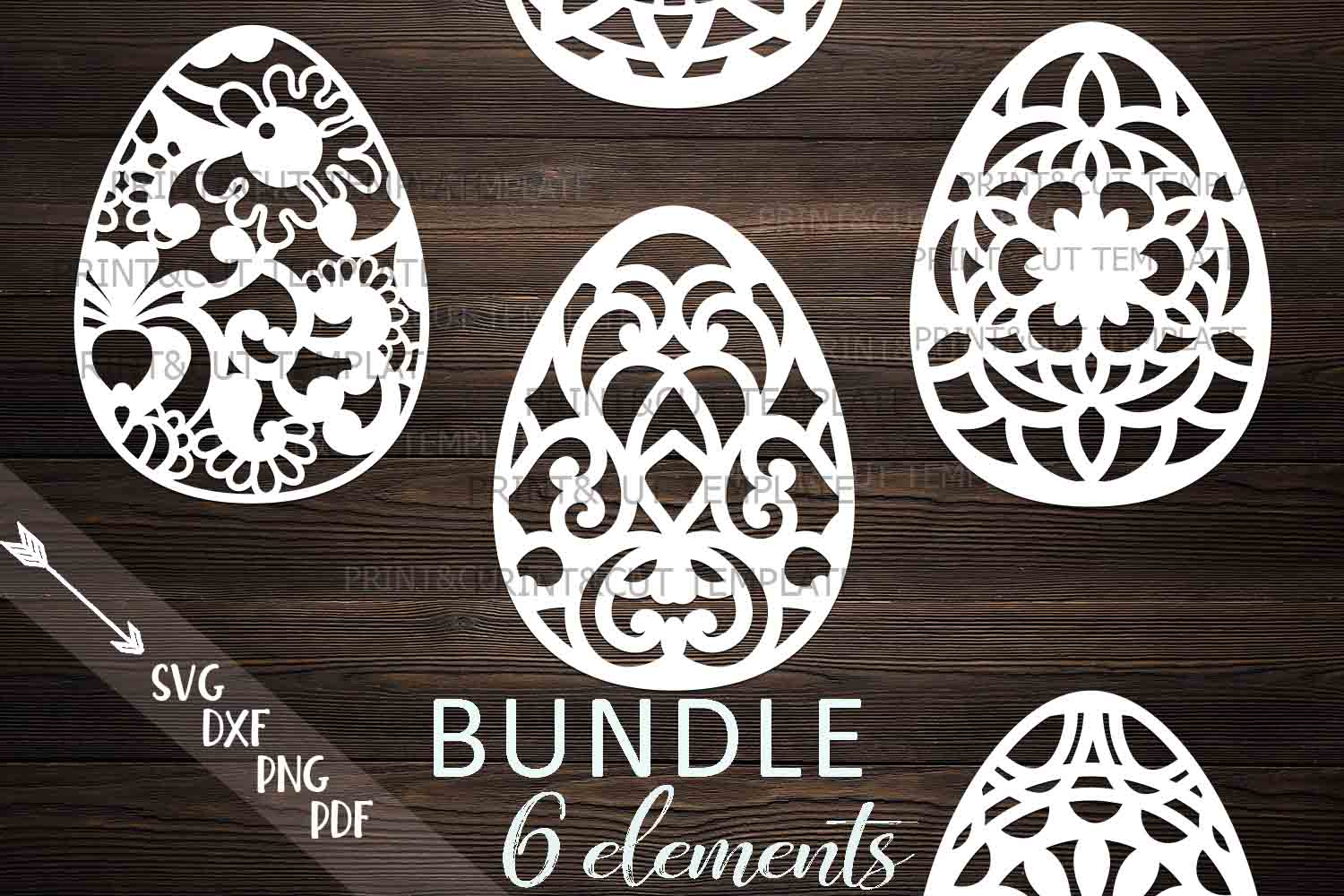 Easter Eggs Svg Graphic By Cornelia Creative Fabrica