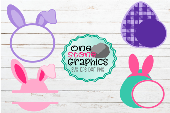 Easter Monogram Svgs Graphic Crafts By OneStoneGraphics
