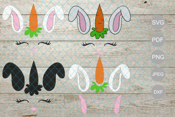 Download Free Easter Graphic By Unicorn Imaging Creative Fabrica for Cricut Explore, Silhouette and other cutting machines.