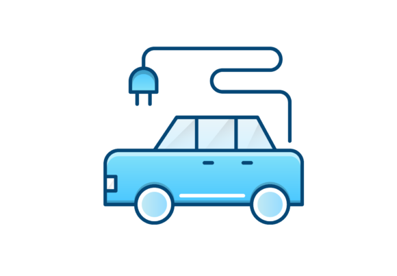 Download Free Electrical Transport Icon Graphic By Back1design1 Creative Fabrica for Cricut Explore, Silhouette and other cutting machines.