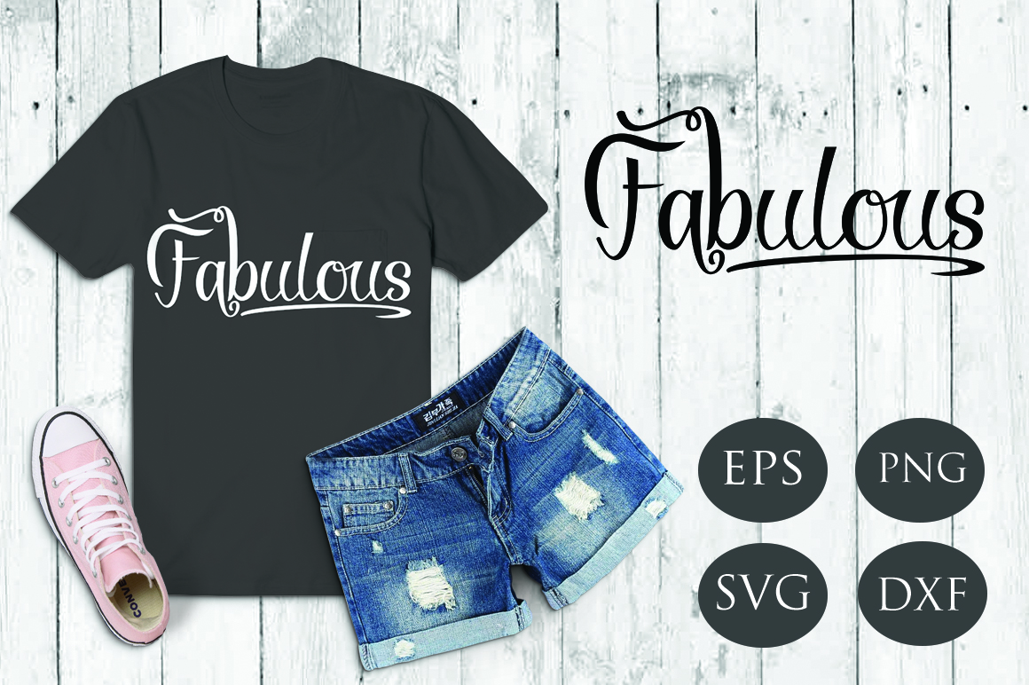 Download Free Fabulous Graphic By Patricia Dmstd Creative Fabrica for Cricut Explore, Silhouette and other cutting machines.